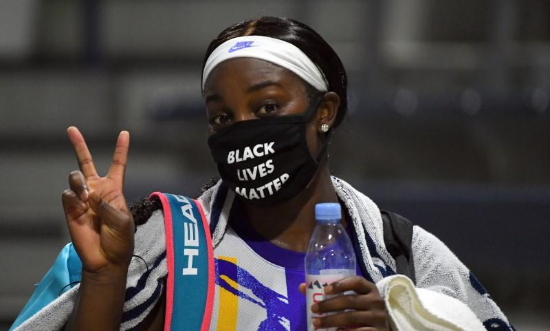 Stephens eases into U.S. Open second round