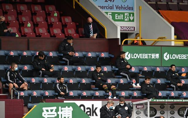 Substitutes will have to wear face coverings while sat in the stands under new protocols