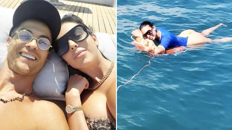 Football News Cristiano Ronaldo And Georgina Rodriguez Yacht
