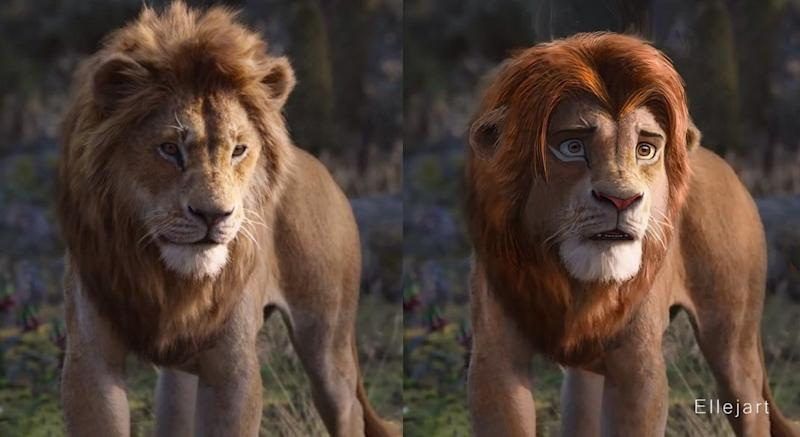 This Photoshop Savvy Fan Reimagined Lion King Characters