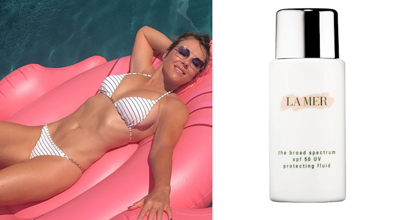 Elizabeth Hurley swears by this product for her youthful skin.