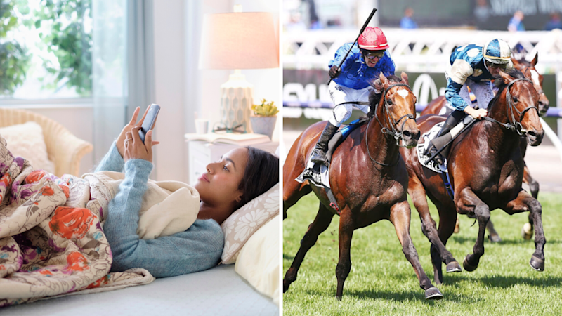 So you pull a sick day on or after Melbourne Cup... What are the odds you get fired? (Source: Getty)