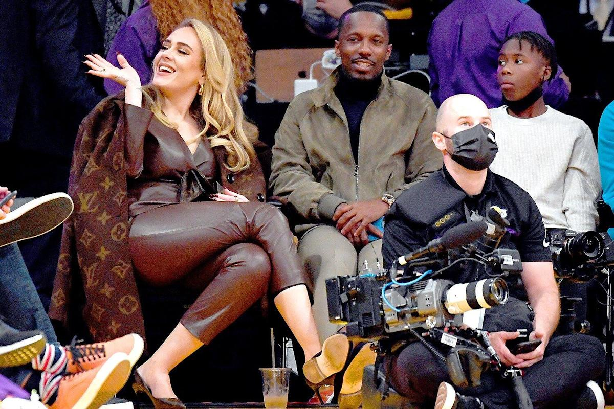 Adele and Boyfriend Rich Paul Are All Smiles on Date Night at NBA Season Opener
