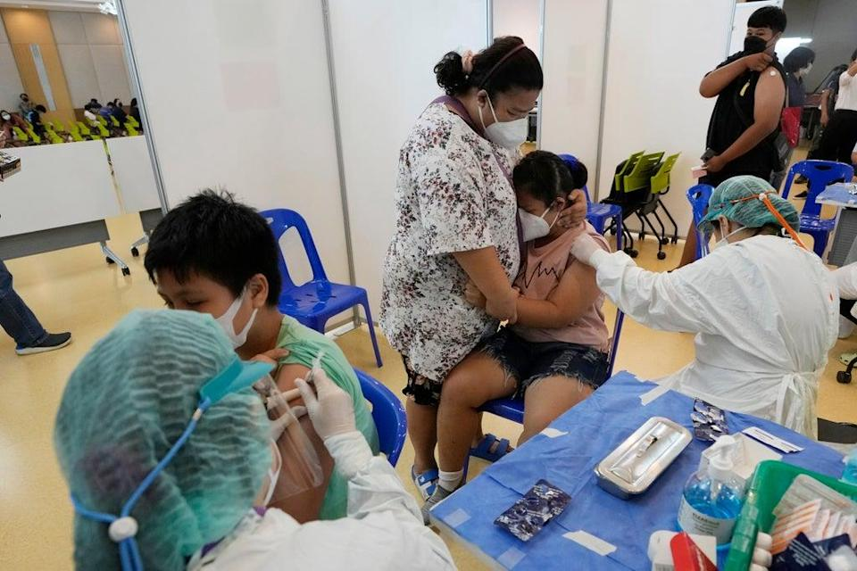 Virus Outbreak Thailand (Copyright 2021 The Associated Press. All rights reserved.)