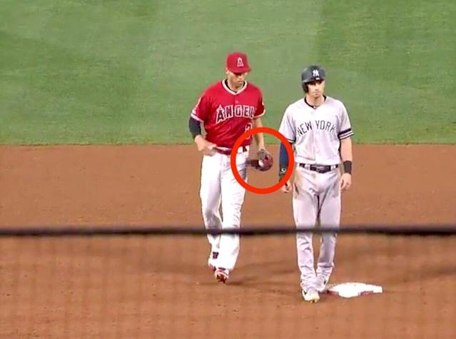 Angels Pull Off Rare 'Hidden Ball Trick' On Yankees, Pay For It Later