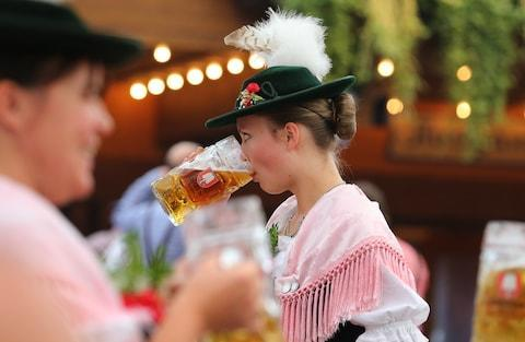 Expect big beers and traditional dress - Credit: getty