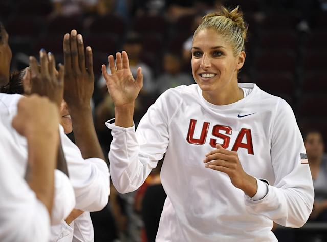 <p>Both a WNBA and Olympic star, Delle Donne has been a vocal advocate for LGBT rights. She will publicly come out in a profile with Vogue this month, according to OutSports. (Getty) </p>