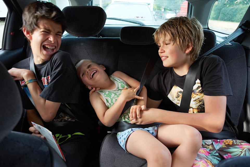 Is it ever ok to leave children unattended in a car? [Photo: Getty]