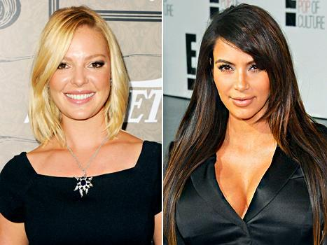Katherine Heigl Slammed by Hollywood Insiders; Kim Kardashian Shows Off Casual New Look: Today's Top Stories