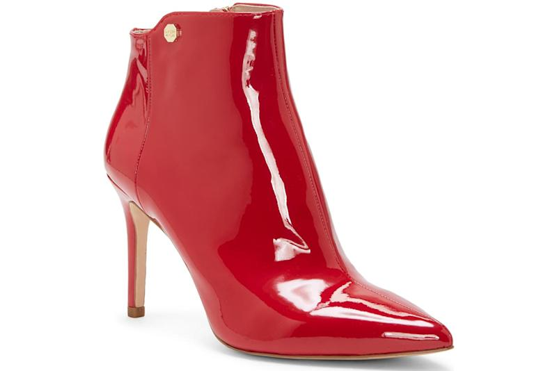Louise et Cet, red ankle boot