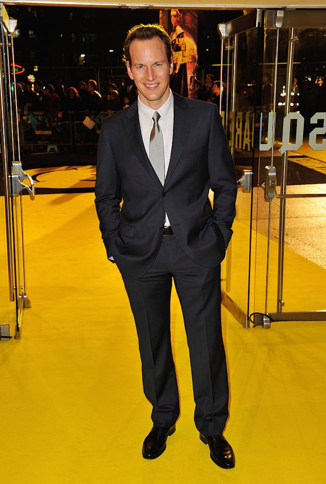 """<a href=""""http://movies.yahoo.com/movie/contributor/1804501534"""">Patrick Wilson</a> at the London premiere of <a href=""""http://movies.yahoo.com/movie/1808406490/info"""">Watchmen</a> - 02/23/2009"""