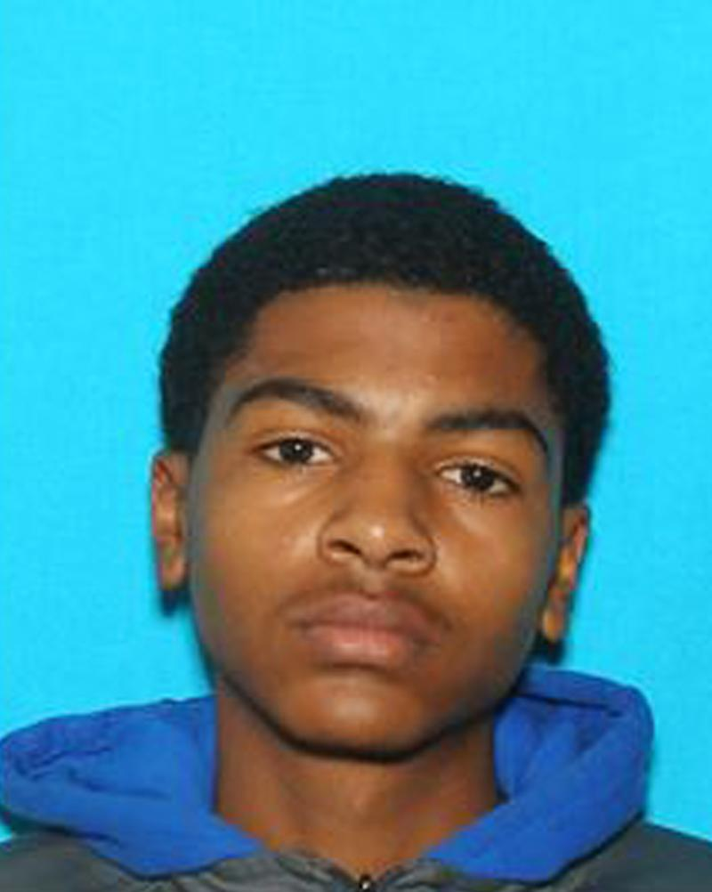 This undated photo provided by Central Michigan University shows James Eric Davis Jr., who police identified as the shooting suspect at a Central Michigan University residence hall on Friday, March 2, 2018. Investigators said neither victim was a student and described the shooting as a