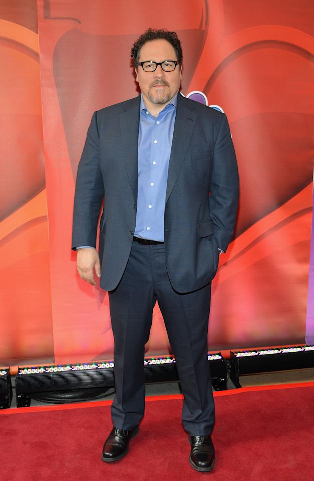NEW YORK, NY - MAY 13:  Actor/director Jon Favreau attends 2013 NBC Upfront Presentation Red Carpet Event at Radio City Music Hall on May 13, 2013 in New York City.  (Photo by Slaven Vlasic/Getty Images)