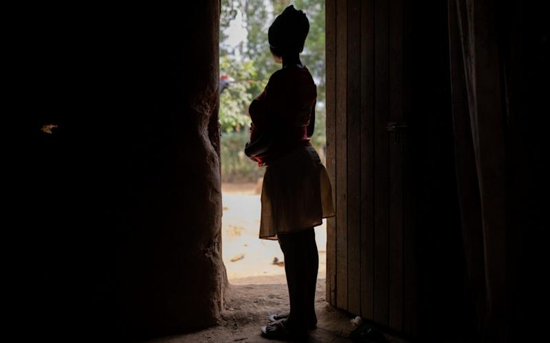 Catherine, 16, is pregnant after she was exploited by a 45-year-old man -  Ed Ram