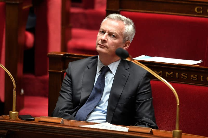 FILE PHOTO: French Economy and Finance Minister Bruno Le Maire