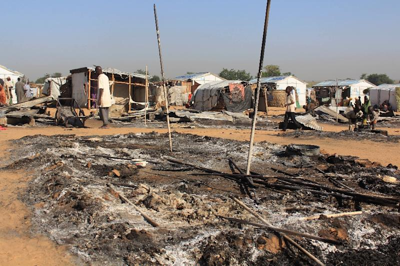 More than 27,000 people have died since the start of the Boko Haram insurgency in 2009, and 1.8 million remain homeless (AFP Photo/AUDU MARTE)