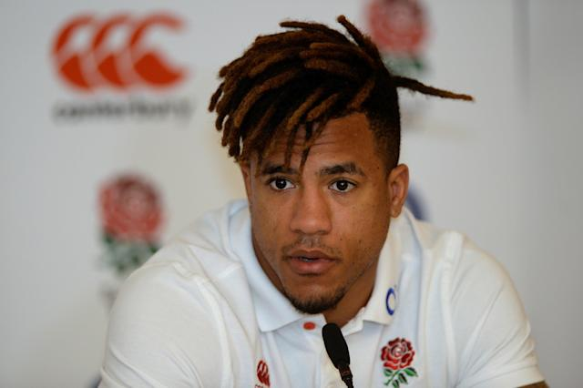 Soccer Football - England Press Conference - Pennyhill Park, Bagshot, Britain - March 15, 2018 England's Anthony Watson during the press conference Action Images via Reuters/Adam Holt