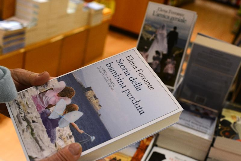 Elena Ferrante's real identity became an almost obsessional focus of media attention, with an Italian investigative journalist claiming last year to have unmasked her through following the banking trail from her publishers (AFP Photo/Gabriel Bouys)