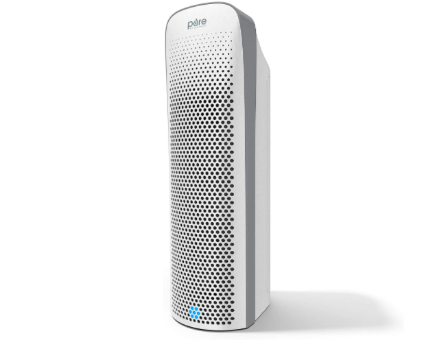 A four-stage filtration system makes this purifier ready to tackle any space. (Photo: Amazon)