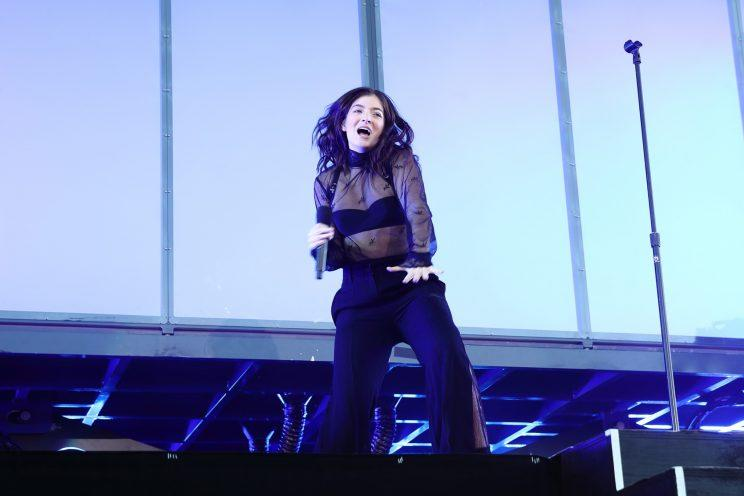 Lorde at Governor's Ball