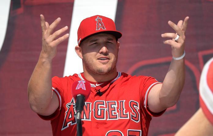 ▲Mike Trout(圖/美聯社/達志影像)