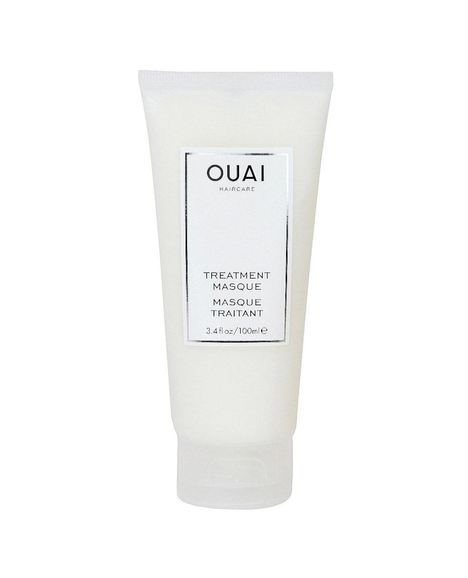 "If your mom's hair could use a little TLC, look no further than Ouai's best-selling <a href=""https://www.glamour.com/gallery/best-hair-masks-for-dry-damaged-hair?mbid=synd_yahoo_rss"" rel=""nofollow noopener"" target=""_blank"" data-ylk=""slk:treatment mask"" class=""link rapid-noclick-resp"">treatment mask</a>. An asset to any beauty lover's top shelf, this product is equal parts effective and luxurious. Shop on Revolve to get free three- to four-day shipping and free returns. $32, Revolve. <a href=""https://www.revolve.com/treatment-masque/dp/OUAR-WU77/?d=Womens&nrtv_cid=3bddc277e9fc09677199907f3091d11e2b5af43b96eec25393edd99aabd46f06&utm_source=narrativ&utm_medium=affiliate&utm_campaign=glob_p_glamour&source=bam&"" rel=""nofollow noopener"" target=""_blank"" data-ylk=""slk:Get it now!"" class=""link rapid-noclick-resp"">Get it now!</a>"