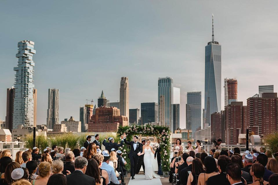 """<p>Carrie Schwab, editor of Junebug Weddings, said, """"A great destination photo highlights a location's vibe first and foremost, while also highlighting the love between a couple.""""<br>(Photo: Junebug Weddings/Caters News) </p>"""