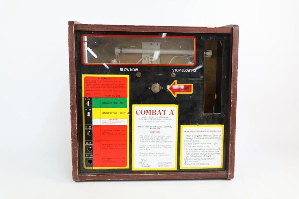 <p>Common in many pubs after the UK made it a criminal offence in 1967 to drink and drive, this system would let people know if they were able to drive home after a pint. </p>