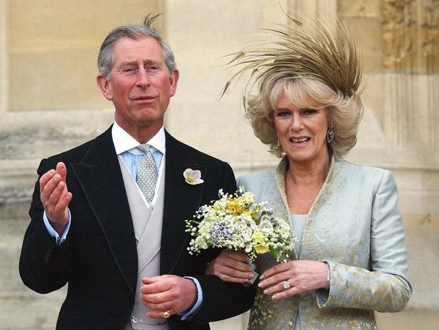 He selects music that was performed at his wedding to the Duchess of Cornwall (Stefan Rousseau/PA)