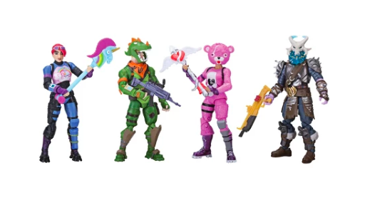 Fortnite Squad Mode Core Figure Four-Pack (Photo: Game Stop)
