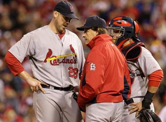 Tony La Russa's handling of the St. Louis pitching staff has been hailed as brilliant during the 2011 postseason