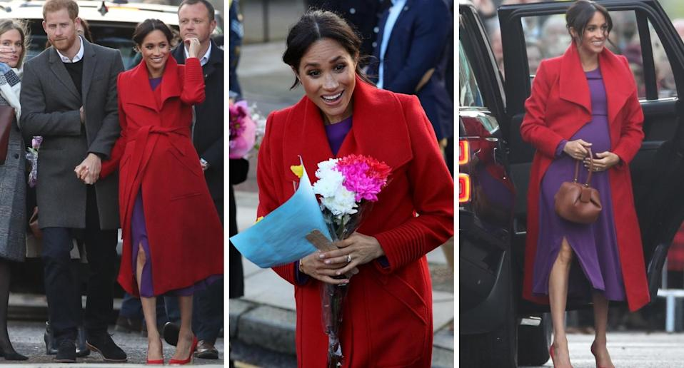 The Duke and Duchess of Sussex arrive in Birkenhead [Photos: PA]