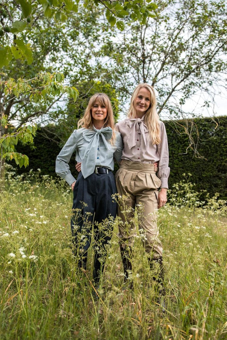 Rosie van Cutsem founded Troy London in 2013 with her sister, Lucia Ruck Keene (Nicole Hains)