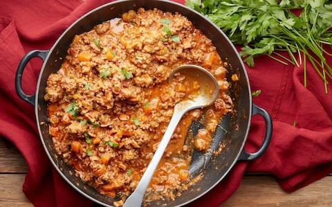 Bolognese ragù sauce  - Credit: Andrew Twort