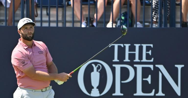 Jon Rahm finished in a tie for third at the British Open on 11 under par