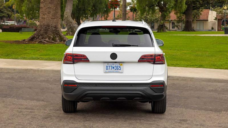 2022 Volkswagen Taos Prototype Rear End