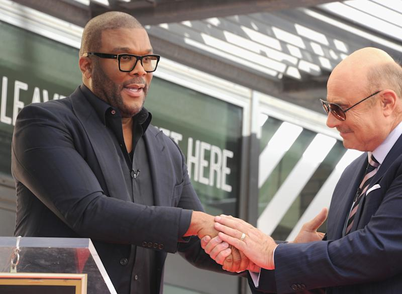 Actor Tyler Perry. Source: Getty
