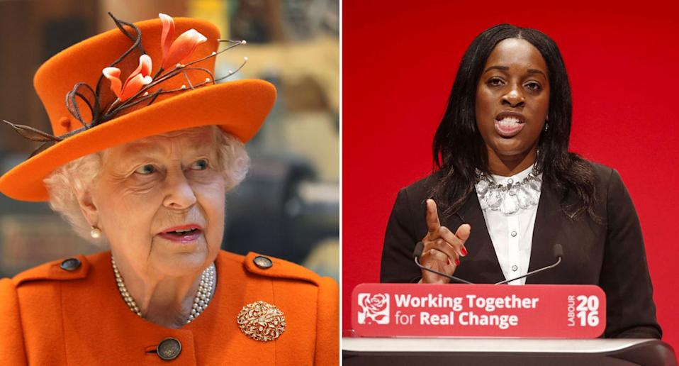 Kate Osamor suggested on Twitter the monarchy could be abolished after the Queen approved Boris Johnson's request to prorogue Parliament. (Getty)