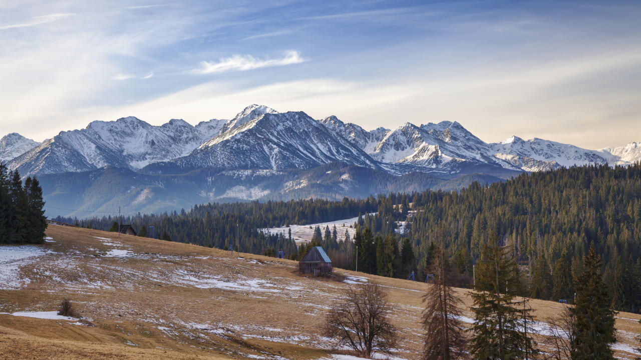 Famed for its rugged landscape and thriving wildlife, it comes as no surprise to see Slovakia's High Tatras mountains in at number one. The perfect spot for adventure-driven backpackers. <em>[Photo: Getty]</em>