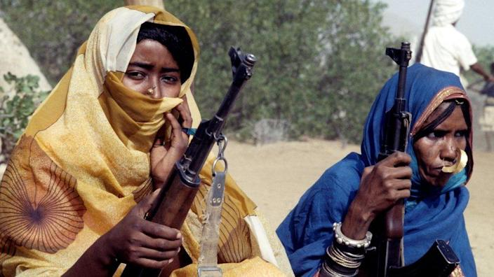 Eritrean People's Liberation Front fighters.  June 20, 1978