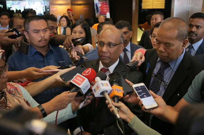 Customs director-general Datuk Seri T. Subromaniam said various efforts and initiatives have already been taken to assist business owners since the SST took effect on September 1. ― Picture by Marcus Pheong