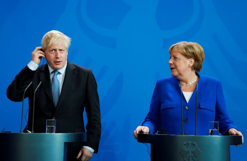 UK would leave the EU on Australia terms if no deal reached, Johnson tells Merkel