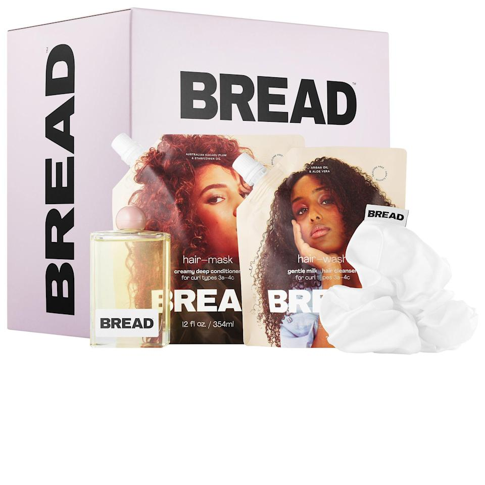 """<p><strong>BREAD BEAUTY SUPPLY</strong></p><p>sephora.com</p><p><strong>$58.00</strong></p><p><a href=""""https://go.redirectingat.com?id=74968X1596630&url=https%3A%2F%2Fwww.sephora.com%2Fproduct%2Fbread-beauty-wash-day-essentials-kit-for-curly-textured-hair-P460552&sref=https%3A%2F%2Fwww.prevention.com%2Flife%2Fg29518657%2Fgifts-for-teenage-girls%2F"""" rel=""""nofollow noopener"""" target=""""_blank"""" data-ylk=""""slk:Shop Now"""" class=""""link rapid-noclick-resp"""">Shop Now</a></p><p>Her adventurous spirit always has her testing out different hairstyles. Now she can nourish her strands with this everyday hair gloss and create fun ponytail styles using the white satin scrunchie. </p>"""