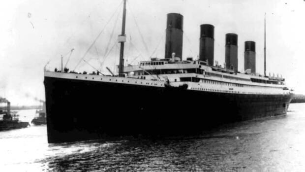 The luxury liner Titanic was lauded in 1912 as unsinkable.  ( - image credit)
