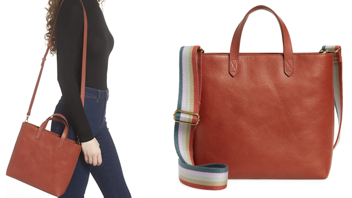 Madewell's Transport Tote is a celebrity go-to.
