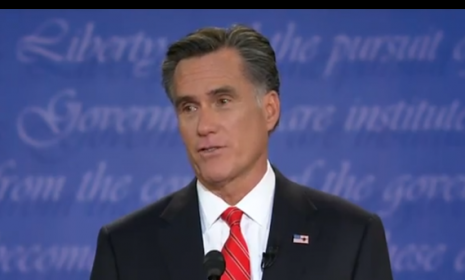 Mitt Romney vowed at Wednesday's presidential debate in Denver that his tax cuts won't balloon the deficit.