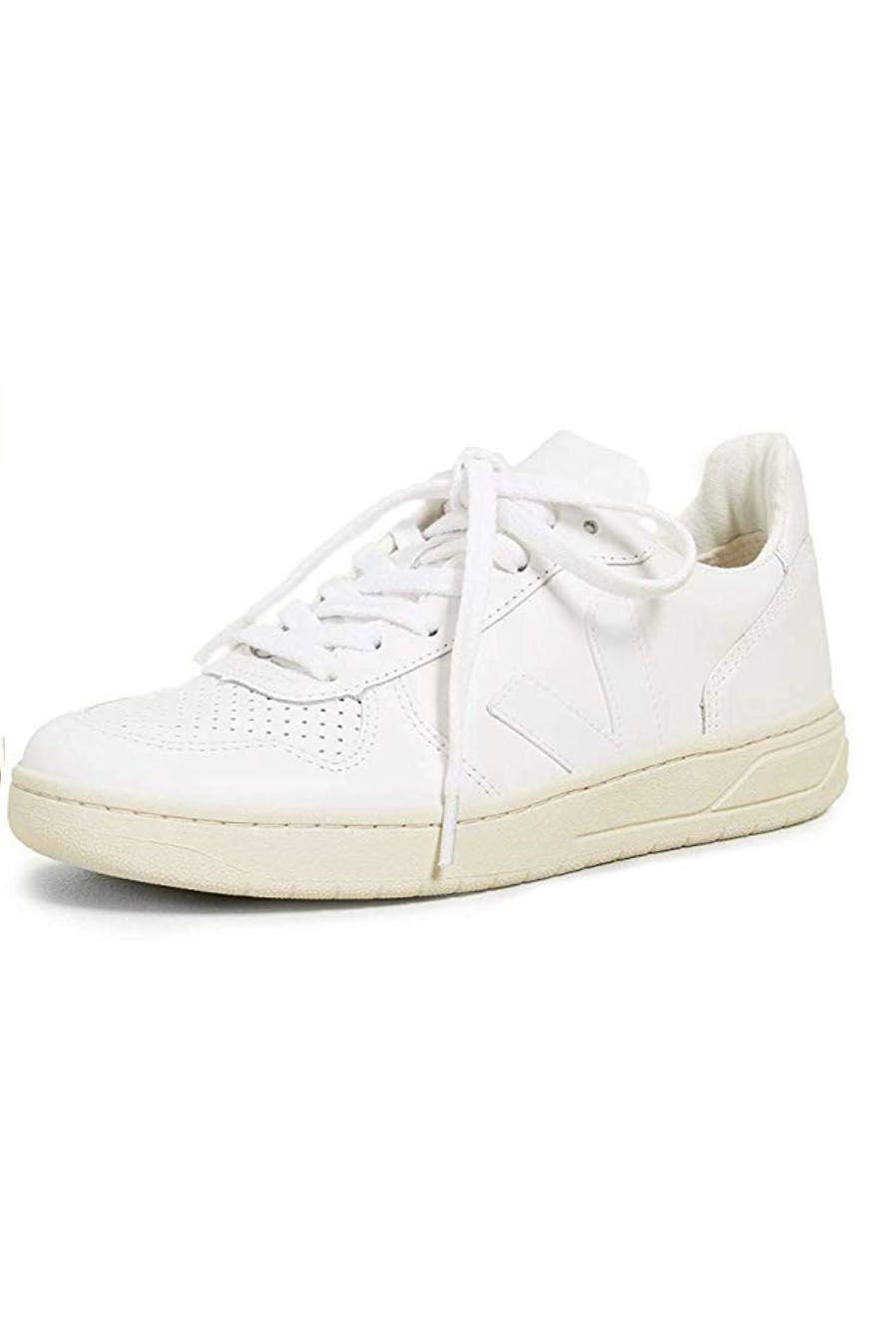 """<p><strong>Veja</strong></p><p>amazon.com</p><p><strong>$150.00</strong></p><p><a href=""""https://www.amazon.com/dp/B01N52XQ32?tag=syn-yahoo-20&ascsubtag=%5Bartid%7C10049.g.36746335%5Bsrc%7Cyahoo-us"""" rel=""""nofollow noopener"""" target=""""_blank"""" data-ylk=""""slk:Shop Now"""" class=""""link rapid-noclick-resp"""">Shop Now</a></p><p>I must confess, I purchased these shoes right after including it into this listicle. Sustainable shoe-brand Veja has been making a name for itself over the last two years, and customers are loving their comfort, style, and ethical business practices.</p>"""