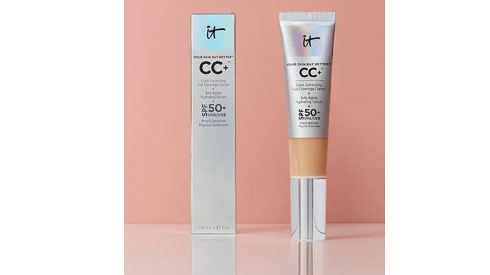 CC+ Cream with SPF 50+ - IT Cosmetics, $52
