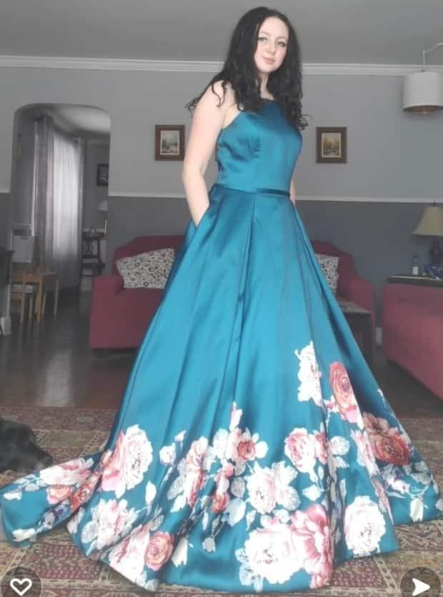 Anna Kaye Redmond, a Grade 12 student at Bernice MacNaughton High School in Moncton, plans to wear the prom dress she bought — even if it's just at small get-together in someone's backyard.