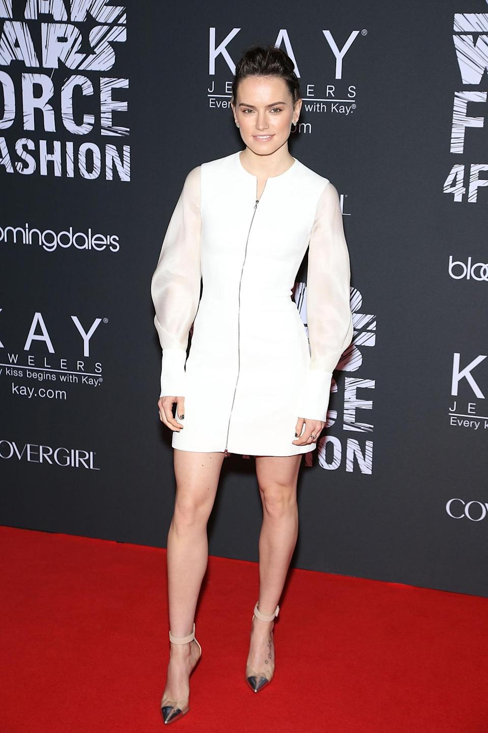 <p>Ridley's breakout role is bound to make her a household name, and is already landing her magazine covers and fashion buzz. </p><p><i>(Photo: Getty Images)</i><br></p>